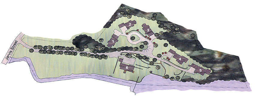 The Percival Estate Site Plan